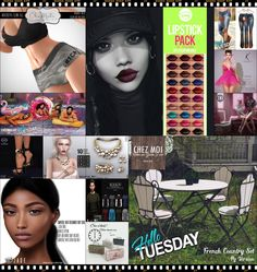"""TIME FOR  HELLO TUESDAY! JUST ONE DAY FOR 50L$ AND 50% OFF SALE DEALS! Find all info and direct SLurls @ http://cosmopolitansl.blogspot.com/2018/06/hello-tuesday-216-store-list-for-5th.html """"Hello Tuesday is weekly discount event with Cosmo stores, direct SLurls to every item you can find next to each vendor picture."""" Enjoy!"""
