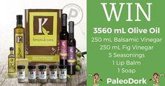 Enter the PaleoDork Kasandrinos Olive Oil Giveaway! Link to enter: http://paleodork.com/giveaways/kasandrinos/?lucky=7034