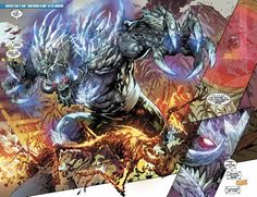 DC Comics New 52 Doomsday from Superman Doomed one shot.