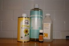 Recipe  Acne Fighting Face Wash: 1/3 Cup Distilled Water (or boiled), 1 Tablespoon Sunflower Oil, 3 Drops Tea Tree Oil, 1 Tablespoon Witch Hazel, 2 Tablespoons Castile Soap (I use Baby-Mild)