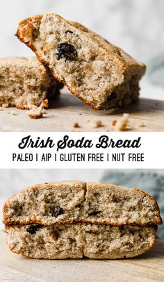 Paleo diet 72902087704473632 - Paleo & AIP Irish Soda Bread – Unbound Wellness Source by unboundwellness Traditional Irish Soda Bread, Bagel Shop, Paleo Bread, Paleo Baking, Aip Diet, Paleo Recipes, Bread Recipes, Paleo Menu, Recipes