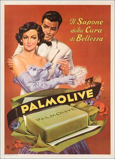 ✔️ Sapone Palmolive 1952