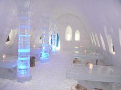 10 hotéis de gelo incríveis