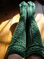 Ravelry: He' mo Leanan Kilt Hose pattern by Anne Carroll Gilmour