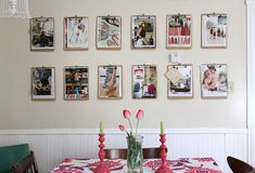 Another pic of clipboard decorating - I love this idea!