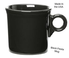 This awesome mug fits in your hand like a glove.Keeps your drink hot for a long time, Made in America. Click below to grab yours while supplies last: http://www.amazon.com/Fiesta-10-1-4-Ounce-Mug-Black/dp/B0000CAQ85/ref=aag_m_pw_dp?ie=UTF8&m=A2XBY0A2