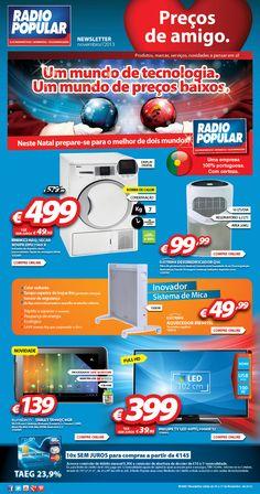 Newsletter - Um mundo de preços baixos!  http://www.radiopopular.pt/newsletter/2013/105/