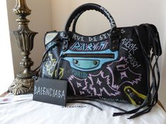 cd190139537 Balenciaga Graffiti Classic City - New Balenciaga Graffiti Classic City -  New Balenciaga Graffiti Classic City
