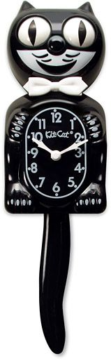 Classic Black Kit-Cat Clock - Find it at The Cat Connection, the largest online retailer of premium cat products.