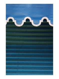 Blue Awning Detail Print - Gilt Home