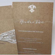 Caligrafia para convite