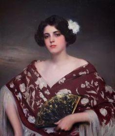 Retrato de Julia- Ramón Casas i Carbó