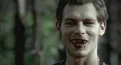 the originals with fangs Joseph Morgan as Klaus...