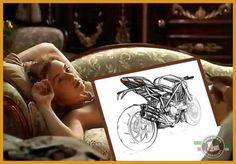 Leonardo di Caprio is a genius! Concept drawings Ducati Streetfighter