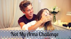 Not My Arms Challenge With My Brother | Zoella...These two are so funny!