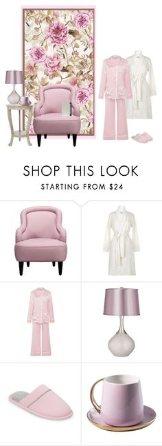 """""""Untitled #1471"""" by milliemarie ❤ liked on Polyvore featuring Kate Spade, UGG, Dearfoams and Rosanna"""
