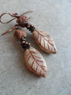 Transition ... Ceramic and Copper Wire-Wrapped by juliethelen