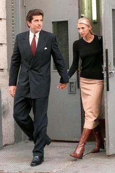 Carolyn Bessette Kennedy & John F, Kennedy, Jr.