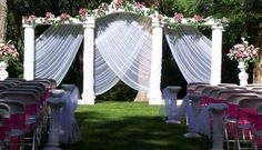 Vintage Outdoor Wedding Decoration