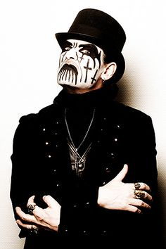 King Diamond- can't wait to hear him live. \m/