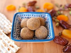 Learn to make Sephardic Charoset Truffles from a Moroccan recipe. Exotic treat for the Seder. Kosher for Passover, Pareve, Vegan, Gluten Free http://toriavey.com/toris-kitchen/2010/03/sephardic-charoset-truffles/