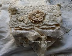 Beautiful lace book made by Nancy  sugarlumpstudios.blogspot