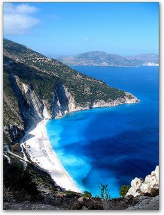 Mirtos Bach, Kefalonia, Ionian Islands, Greece.