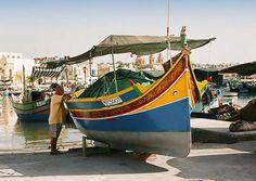 Personal boat. Malta. by Vinaixa  photonoise.vinaixa.org