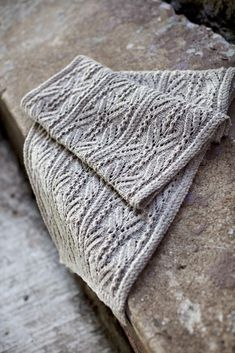 *Brooklyn Tweed Shelter worsted* Image of Topiary (woodsmoke) Brooklyn Tweed, Knit Cowl, Knitted Shawls, Crochet Scarves, Lace Shawls, Knit Or Crochet, Lace Knitting, Finger Knitting, Hand Crochet