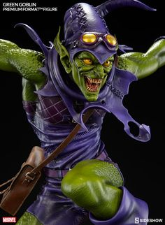 Marvel Green Goblin Premium Format(TM) Figure by Sideshow Co | Sideshow Collectibles