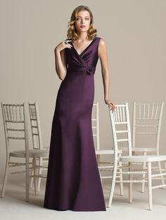 Aubergine Bridesmaids Dresses - Ocodea.com