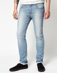 Dr Denim Snap Skinny Jeans