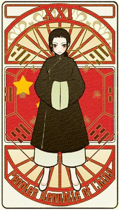 People's Republic of China | Hetalia Tarot Card