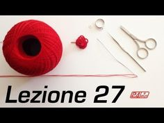 Chiacchierino Ad Ago - 27˚ Lezione Come Fare Una Rosa Anello Pendente Orecchino - Tutorial Tatting - YouTube