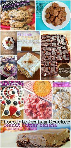Top Ten of my FAVORITE Healthy Dessert Recipes!
