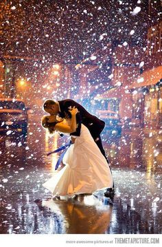 ♥ Dancing in the snow <3