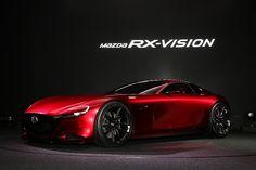 東京モーターショー:帰ってきたロータリーマシン「RX−VISION」 マツダが世界初公開 - 毎日新聞