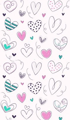 Galaxy Phone Wallpaper, Phone Screen Wallpaper, Pink Wallpaper Iphone, Cute Wallpaper For Phone, Couple Wallpaper, Heart Wallpaper, Colorful Wallpaper, Cellphone Wallpaper, Cartoon Wallpaper