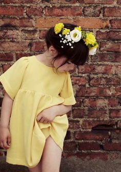 Soft shapes for spring 2014 kids fashion by Poppy Rose