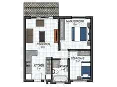 54sqm Cupboard, Floor Plans, Houses, Living Room, Bedroom, Clothes Stand, Homes, Armoire, Crockery Cabinet