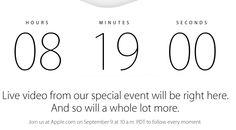 Ya tenemos cuenta atrás en la página de #Apple para la Keynote de esta tarde. Será el comienzo de una nueva empresa tras la muerte de Steve Jobs en 2011. Sin él, en tres años, sólo se han atrevido a actualizar productos. Así que hoy veremos algo más que un nuevo smartphone o un reloj inteligente: veremos si el Apple de Cook puede competir con el Apple de Jobs.