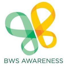 mint green and golden butterfly - Beckwith-Wiedemann Syndrome awareness