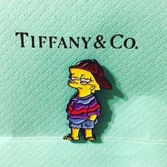 Image of Like, you know, whatever. Lisa Simpson Pin