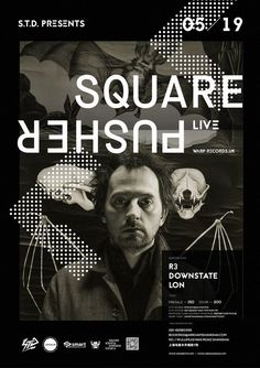 RA: S.T.D. presents Squarepusher at Arkham, Shanghai