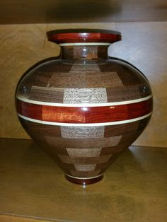 Hey, I found this really awesome Etsy listing at https://www.etsy.com/listing/216096171/segmented-vase-made-from-walnut