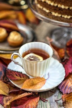 Autumn tea, Autumn, Tea                                                       …