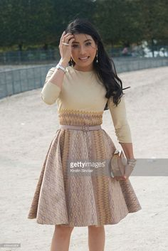 Princess Siriwanwaree Nareerat of Thailand on day 7 of Paris Collections: Women on September 29, 2014 in Paris, France.
