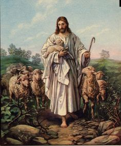 christ as shepherd pictures | Jesus Pictures : My Good Shepherd