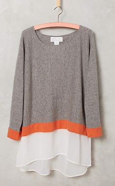 Confetti Cashmere Pullover #anthrofave