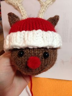 Ravelry: Aetara's Reindeer Snowball Buddy